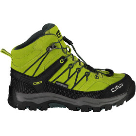 CMP Campagnolo Rigel WP Chaussures de trekking mi-hautes Enfant, energy/jungle